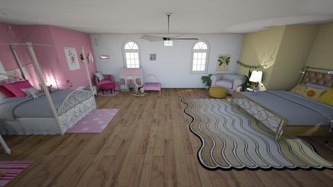 Kid room  - Bedroom  - by mittens8