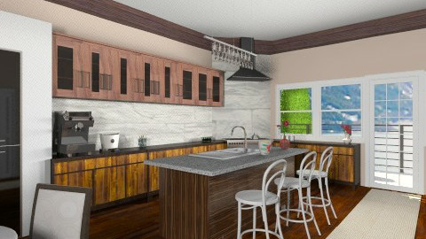 ItK - Country - Kitchen - by vanette