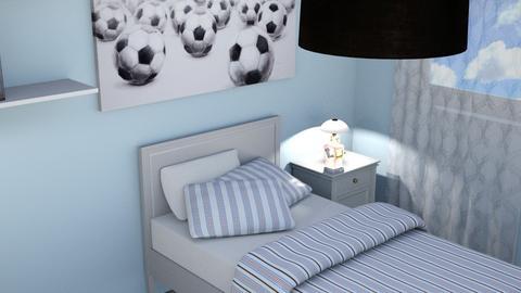 CAPITOLO 7 ESERCIZIO 3A - Masculine - Kids room - by EveDesign