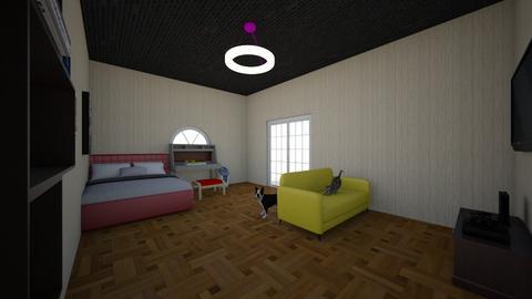 Bedroom - Modern - Bedroom  - by Roomstyler10320