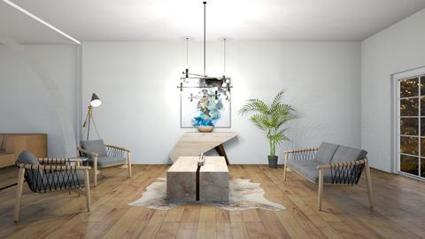 mid century  - Living room  - by belly bel bel