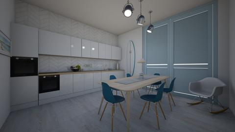 Coastal Kitchen - Modern - Kitchen  - by evabarrett