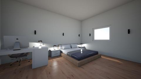 Sean bedroom 2 - Modern - Bedroom  - by Seanwhite