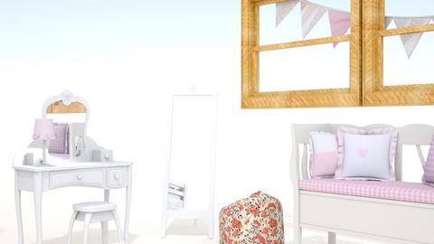 bunny rosa room - Kids room  - by ketalj
