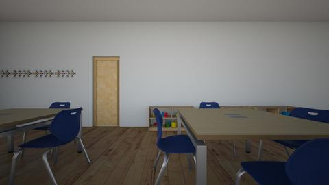 MI AULA 02 - Kids room  - by korice