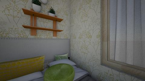 main character bedroom - Retro - Bedroom  - by jjaoanan