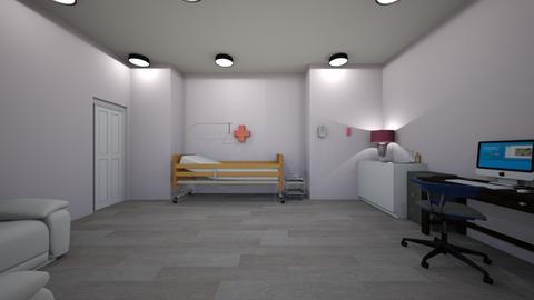 hospital room - Office  - by 29catsRcool