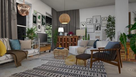 boho_contest mikaelahs - Living room  - by mikaelahs