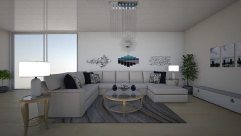 house l - Living room  - by nikolinajadanic