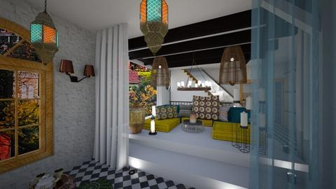 moroccan chill out place - Living room - by TusaTimea