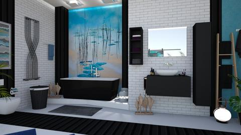 Lily Pond Bathroom - Bathroom  - by matina1976