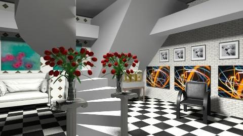 the lobby - Retro - by marianne ziegler