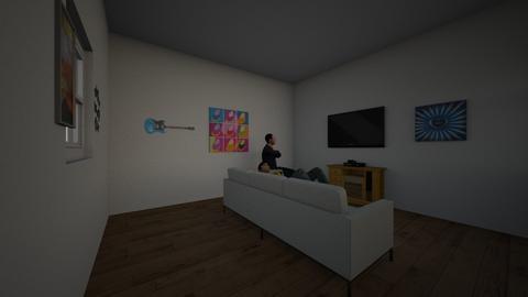 living room - Living room - by CheeseNugzs2018