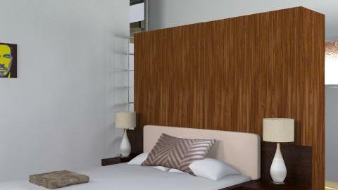 CASA DOMUSÉ 02  - Minimal - Bedroom  - by cibelles