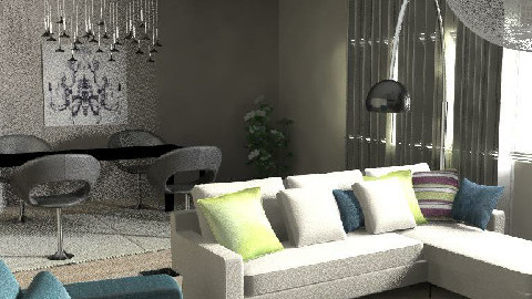 s. 1 - Living room - by TWEETY