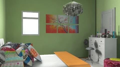 Christina Palazzo - Glamour - Bedroom - by xoxodancingurl15