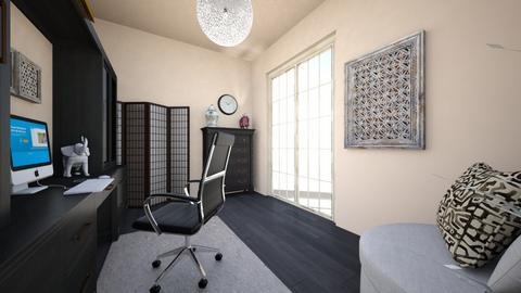 oriental office 3 - Office  - by olivianicole59
