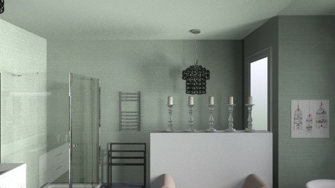 Master Bath - Eclectic - Bathroom  - by stouton