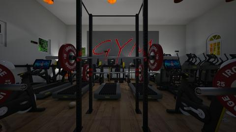gym - Office  - by Malithu