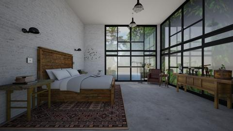 modern vintage  - Eclectic - Bedroom  - by kitty