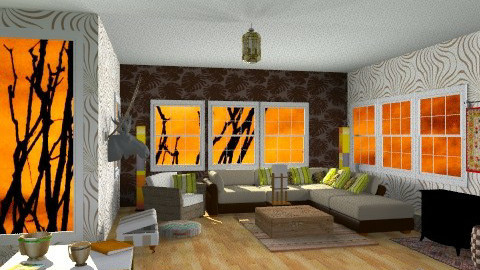 Africa - Eclectic - Living room - by Gidion