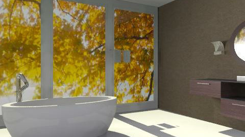 Sleek Bath - Modern - Bathroom  - by idesine