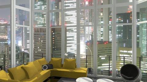 Skyline - Minimal - Living room  - by Baustin