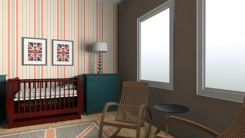 UK nursery - Vintage - Kids room - by henrycambraia