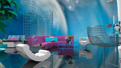 Symbolism-A Blue Moon - Modern - by Open Spaces