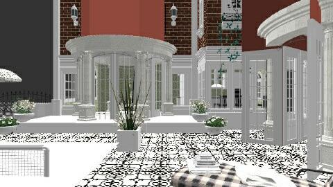 outside patio - Classic - Garden  - by lulu2211