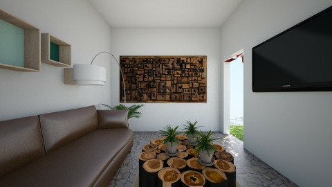 Living Room - Minimal - Living room  - by Elisheva2