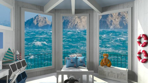kids room in a lighthouse - Kids room - by ANAAPRIL