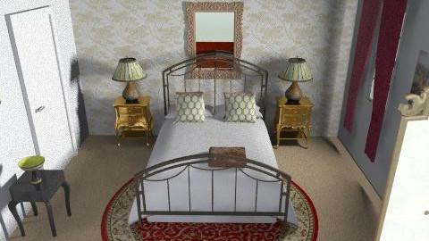Maya - Vintage - Bedroom  - by mayapen21