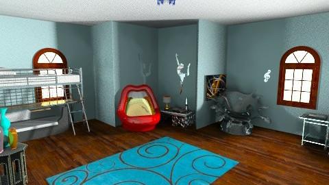 dorm room - Eclectic - Bedroom  - by mnschutte
