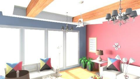 Lively Living Room - Modern - by Almas1991
