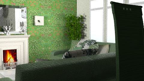 Bottle - Glamour - Living room - by Cathd0411