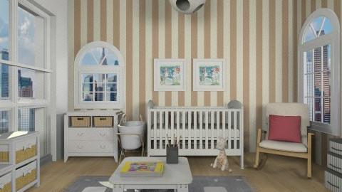 comfort city baby room - Vintage - Kids room  - by vesperart
