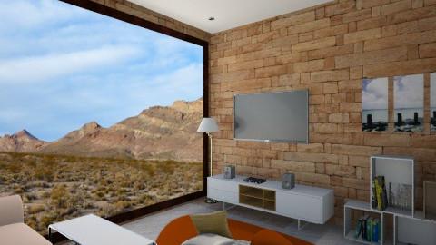 desert house - Minimal - by dyant ndut