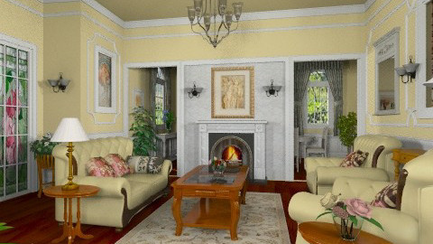 Matilda Livingroom - Classic - Living room  - by Bibiche