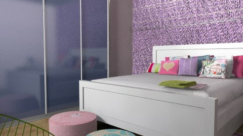 teen room - Eclectic - Bedroom  - by shelleycanuck