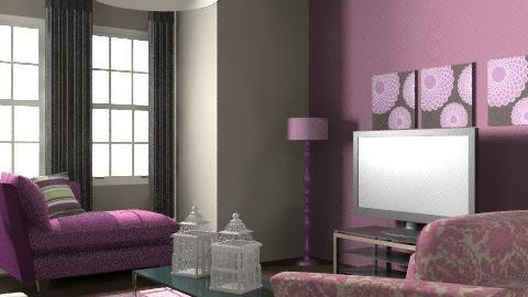 purple relax - Glamour - Living room  - by Fulton Gary