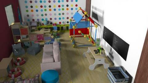 ici daycare v3 - Vintage - Kids room - by mehar