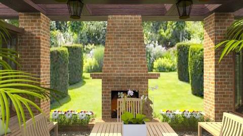 Garden001 - Classic - Garden - by Ivana J
