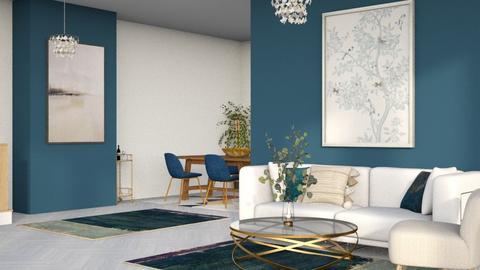 Melodys room_navy blue - by Oyisha