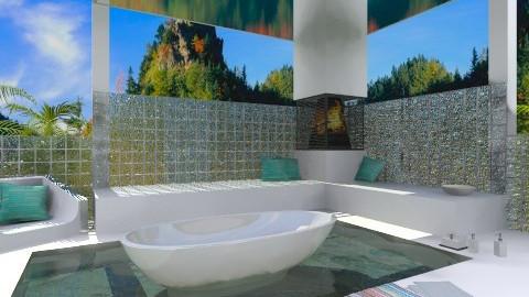 Outdoor Bath2 - Modern - Bathroom  - by idna