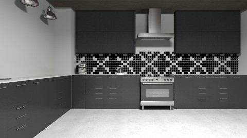 Mix - Eclectic - Kitchen  - by Julia_GC