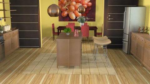 Kitchen - Eclectic - Kitchen  - by Kaela