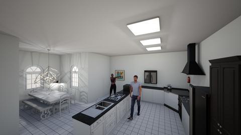 Abbys Kitchen - Modern - Kitchen  - by abbygillum