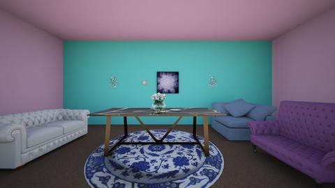 Symmetry - Living room  - by Teacake56