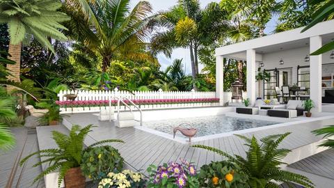 Design 432 Key West Summer - Garden  - by Daisy320